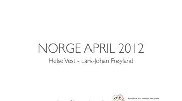 EBG Play: Norway: Helse Vest leading the way in Norway
