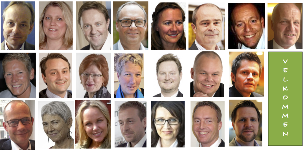 Speakers and moderators at eBF | Norge 2013