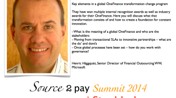 EBG Play: Key Elements in a global OneFinance transformation program