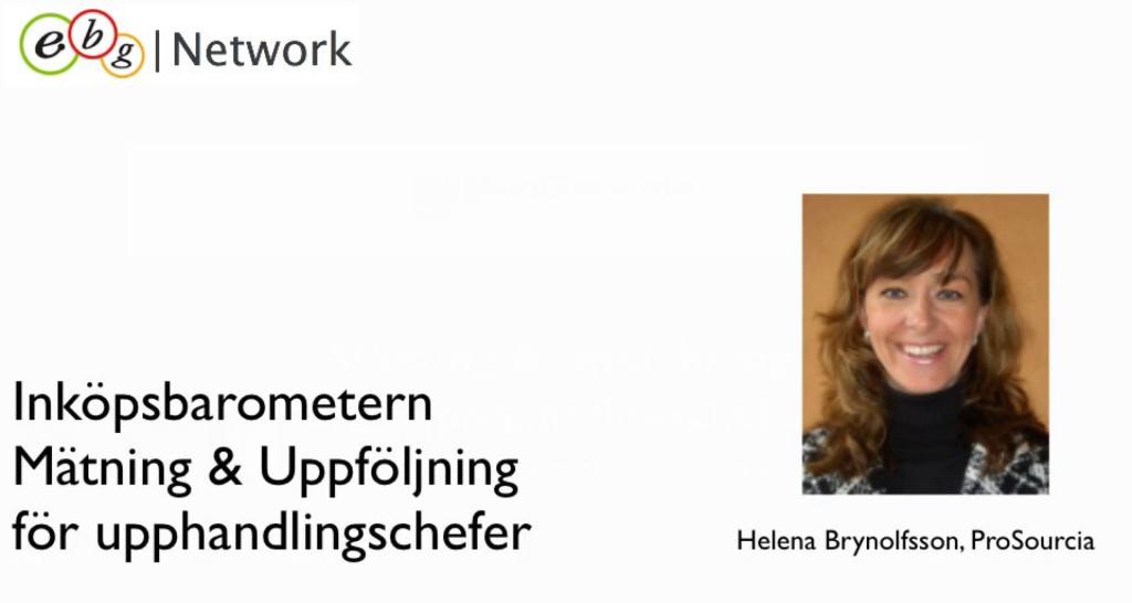 Webinar Helena Brynolfsson