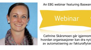 EBG Play: Hva skjer i det Norske fakturamarkedet når andelen efaktura øker?