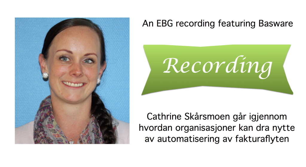 Cathrine Skarsmoen recording