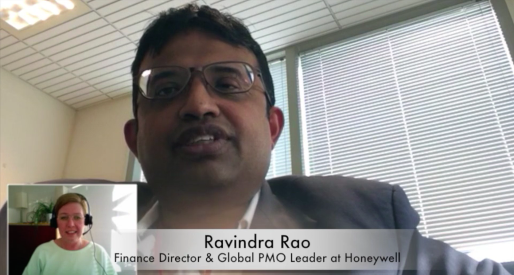 Ravindra Rao Honeywell interview