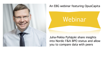 Nordic F&A BPO Webinar April 17th: How does your data compare with peers?