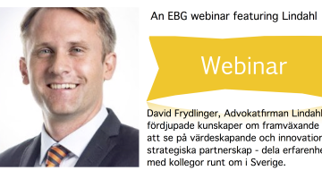 EBG Webinar 28 maj: Styrs ditt företags leverantörsrelationer av frågan What's In It For Me? eller av frågan What's In It For We?