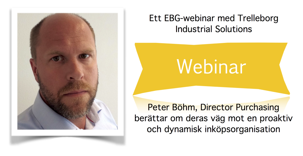 Peter Bohm Trelleborg Industrial Solutions
