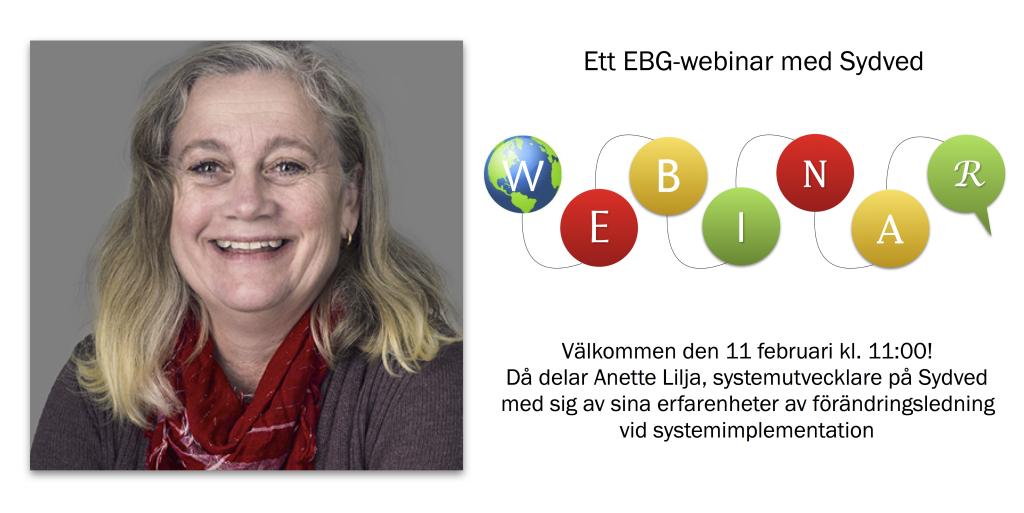 Webinar med Anette Lilja Sydved