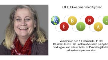 EBG | Webinar: Vikten av förändringsledning vid systemimplementation
