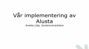 EBG Play: Sydved om förändringsledning vid systemimplementation