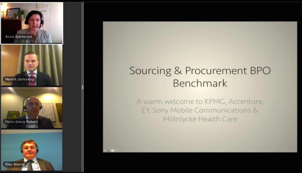 Sourcing & procurement BPO Benchmark