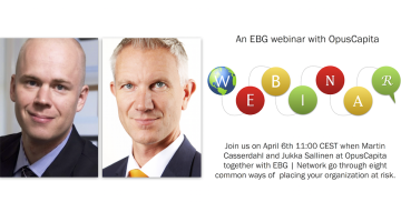EBG | Webinar: Avoiding risk and fraud from a cash management and purchase to pay perspective