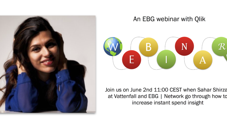 EBG   Webinar: The Vattenfall story going from re-active to pro-active spend visibility