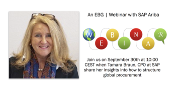 EBG | Webinar: Structuring global procurement