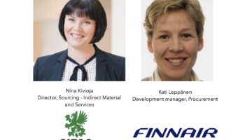 UPM and Finnair to Source 2 Pay Summit 2017