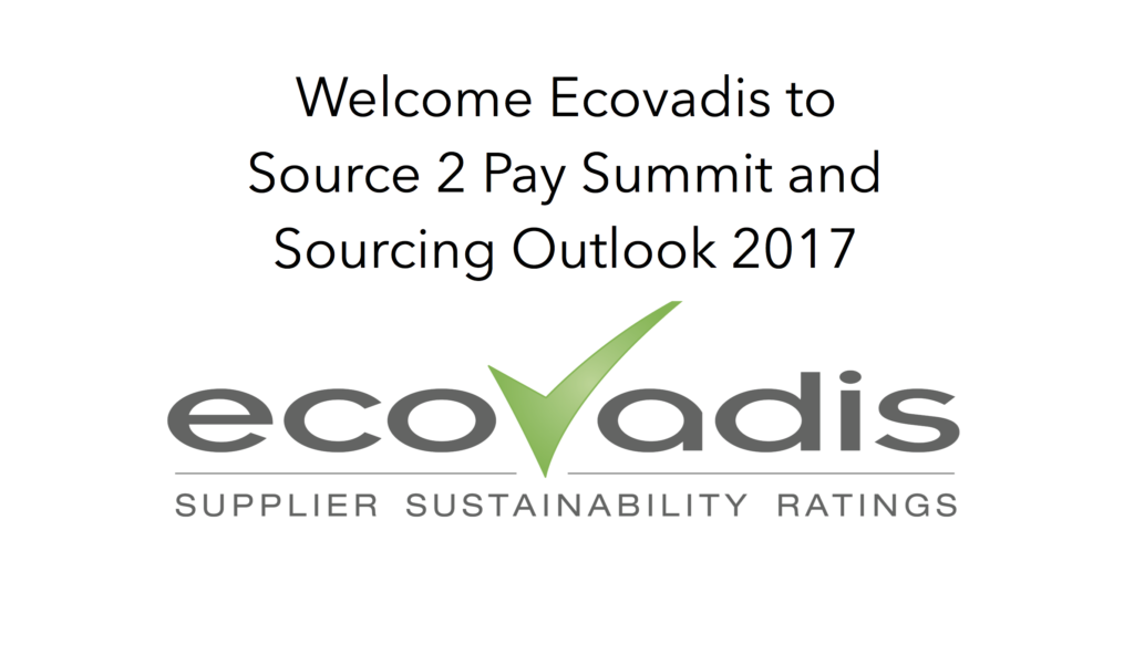 Welcome EcoVadis