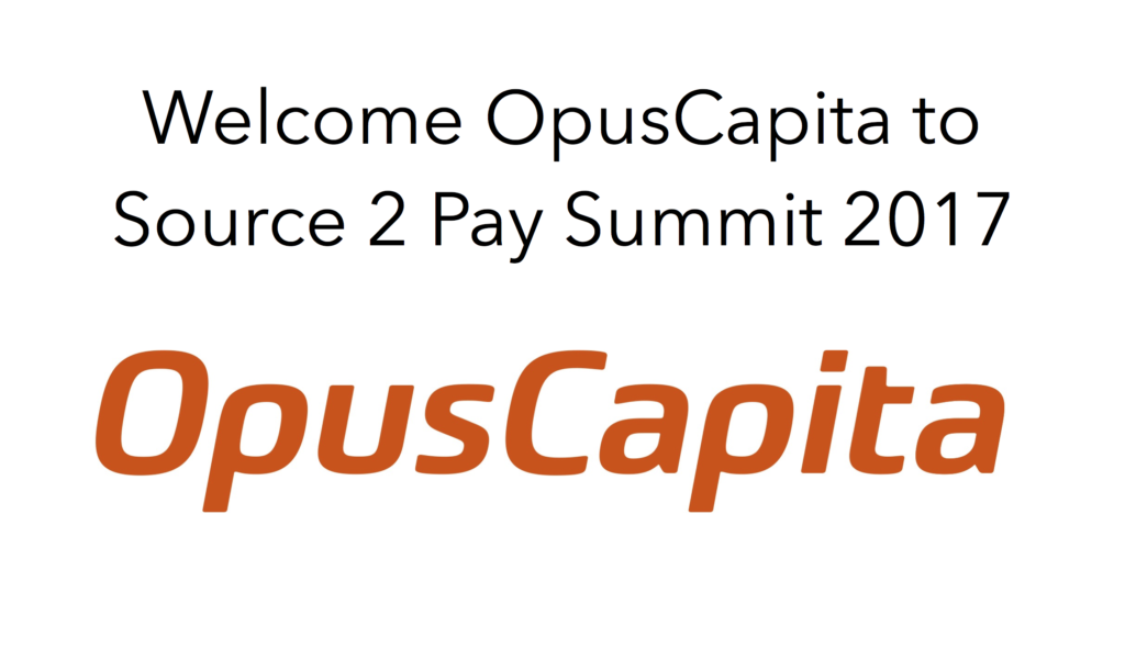 Welcome OpusCapita