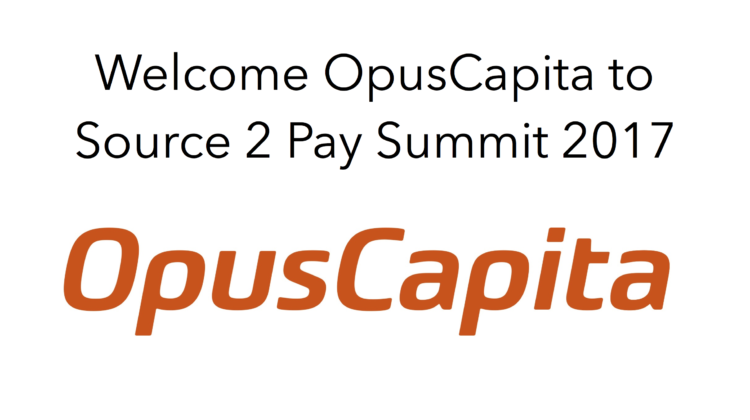 OpusCapita to Source 2 Pay Summit 2017