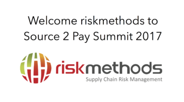 riskmethods to Source 2 Pay Summit 2017