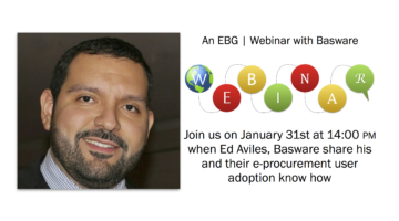 EBG | Webinar: Solving the e-procurement user adoption challenge