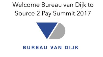 Bureau van Dijk to Source 2 Pay Summit 2017