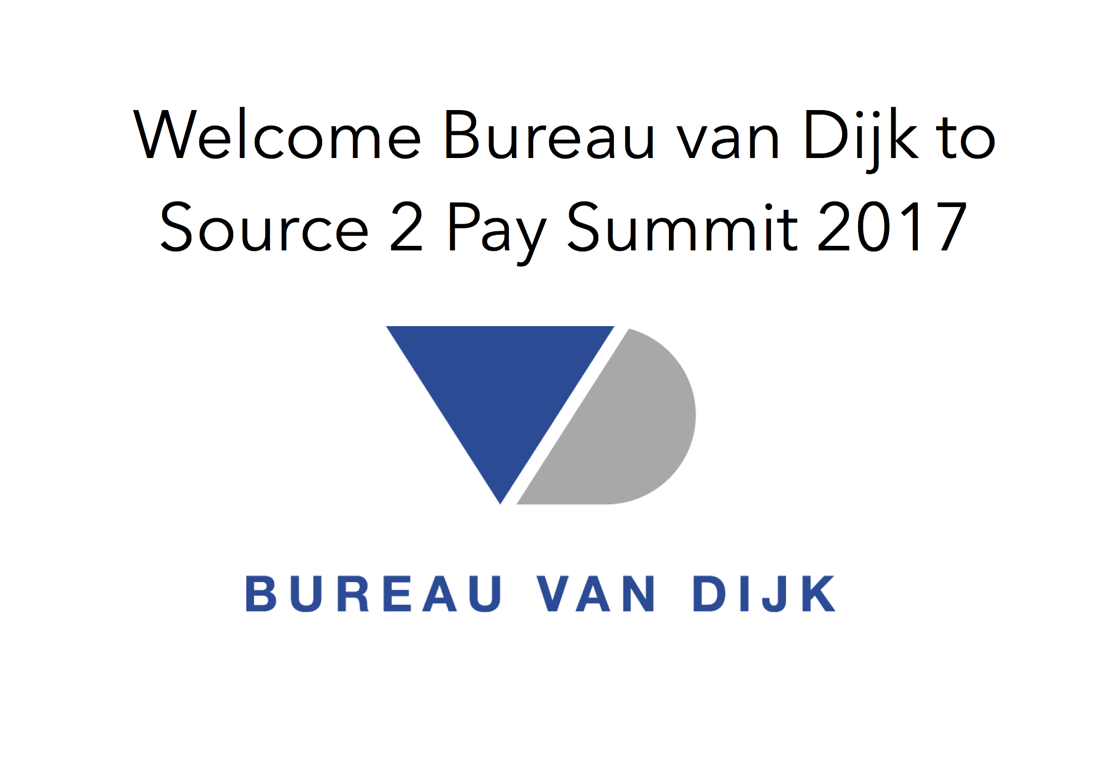 Bureau van dijk to source 2 pay summit 2017 ebg network for Bureau van dijk