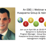 EBG | Webinar: Supply Chain Risk Management – tips and insights from Husqvarna Group
