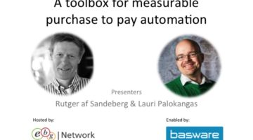 EBG | Play: A toolbox for measurable purchase to pay automation
