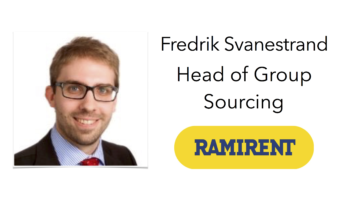 Welcome Ramirent to Sourcing Outlook 2017