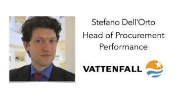 Welcome Vattenfall to Sourcing Outlook 2017
