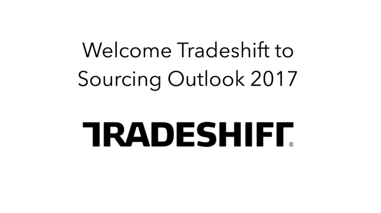 Welcome Tradeshift to Sourcing Outlook 2017