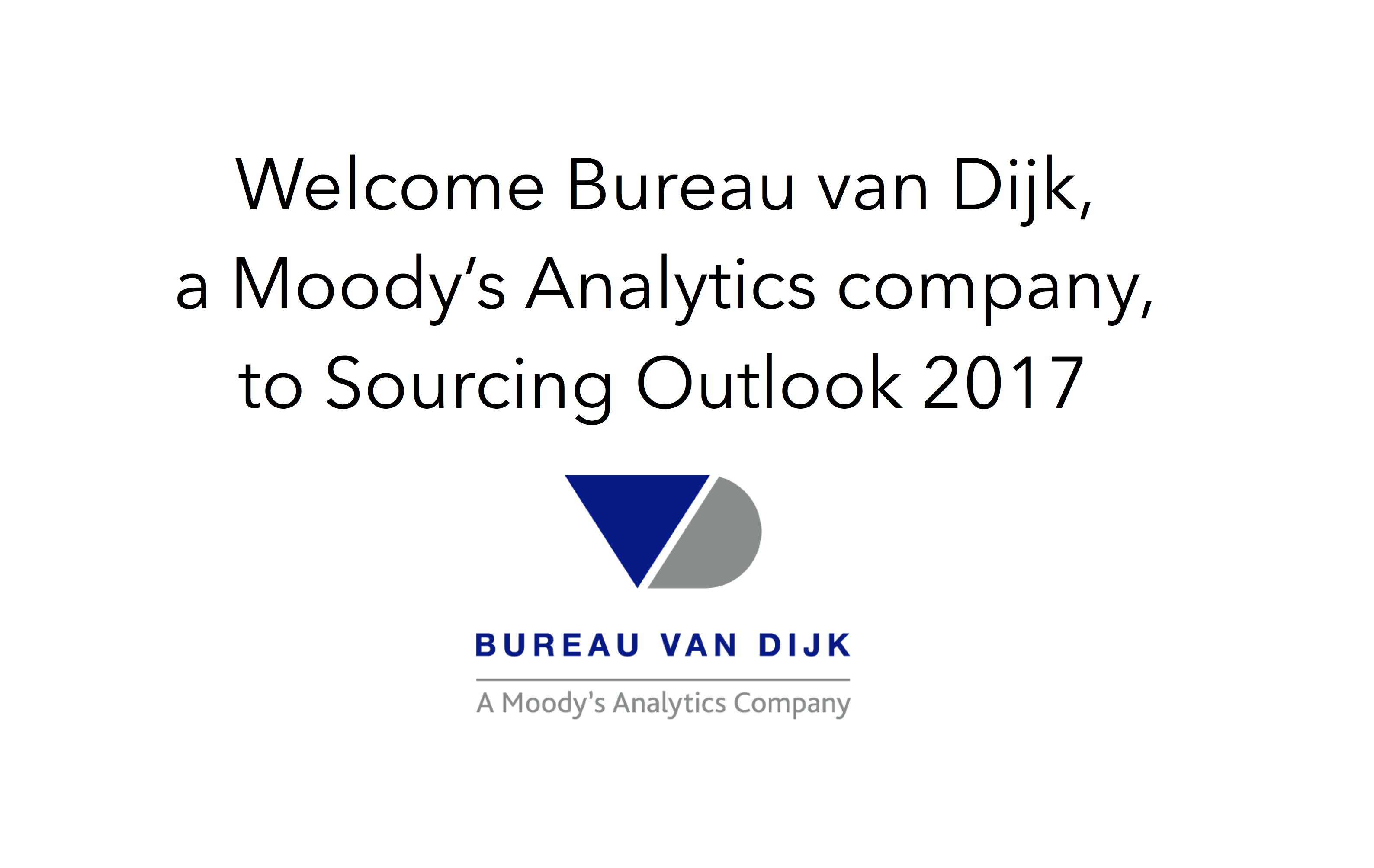 Welcome bureau van dijk a moody s analytics company to for Bureau van dijk