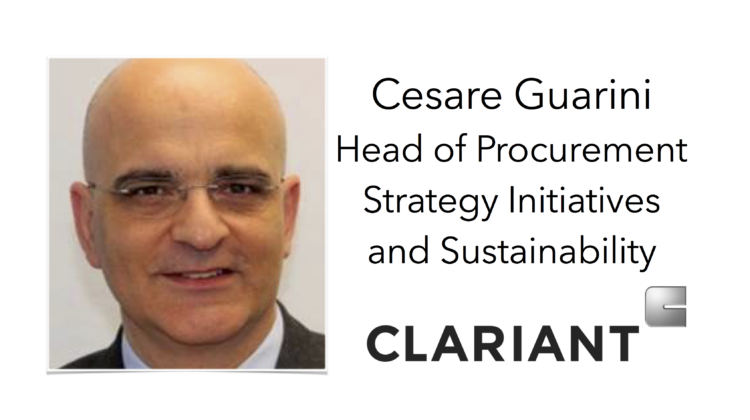 Welcome Clariant to Sourcing Outlook 2017