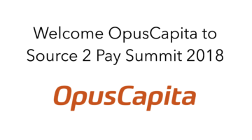 OpusCapita join Source 2 Pay Summit 2018