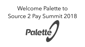 Palette join Source 2 Pay Summit 2018
