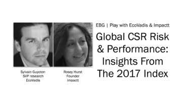EBG | Play: Global CSR Risk & Performance: Insights From The 2017 Index