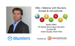 EBG | Webinar: Creating the perfect climate for Supply Chain Risk Management