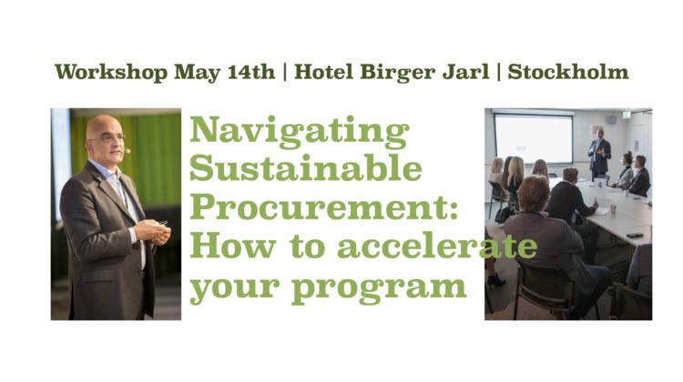 EBG | Workshop: Navigating Sustainable Procurement