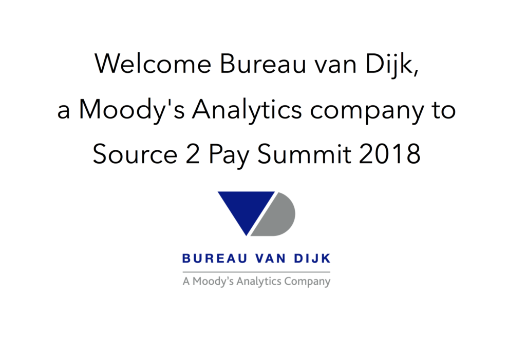 Bureau van dijk join source 2 pay summit 2018 ebg network for Bureau van dijk