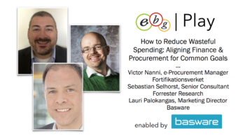 EBG | Play: Aligning procurement & finance reducing wasteful spending