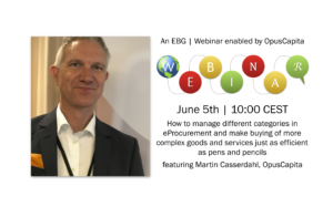 EBG | Webinar: How to manage buying of complex categories in eProcurement