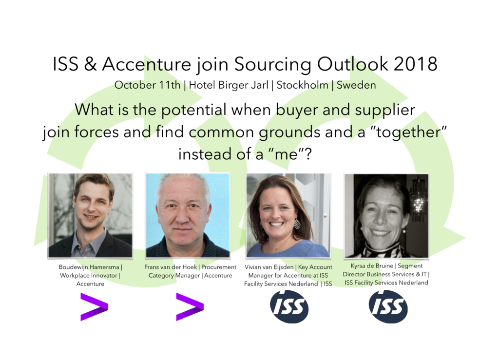 ISS & Accenture join Sourcing Outlook 2018 | EBG Network
