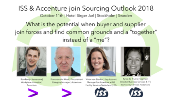 ISS & Accenture join Sourcing Outlook 2018