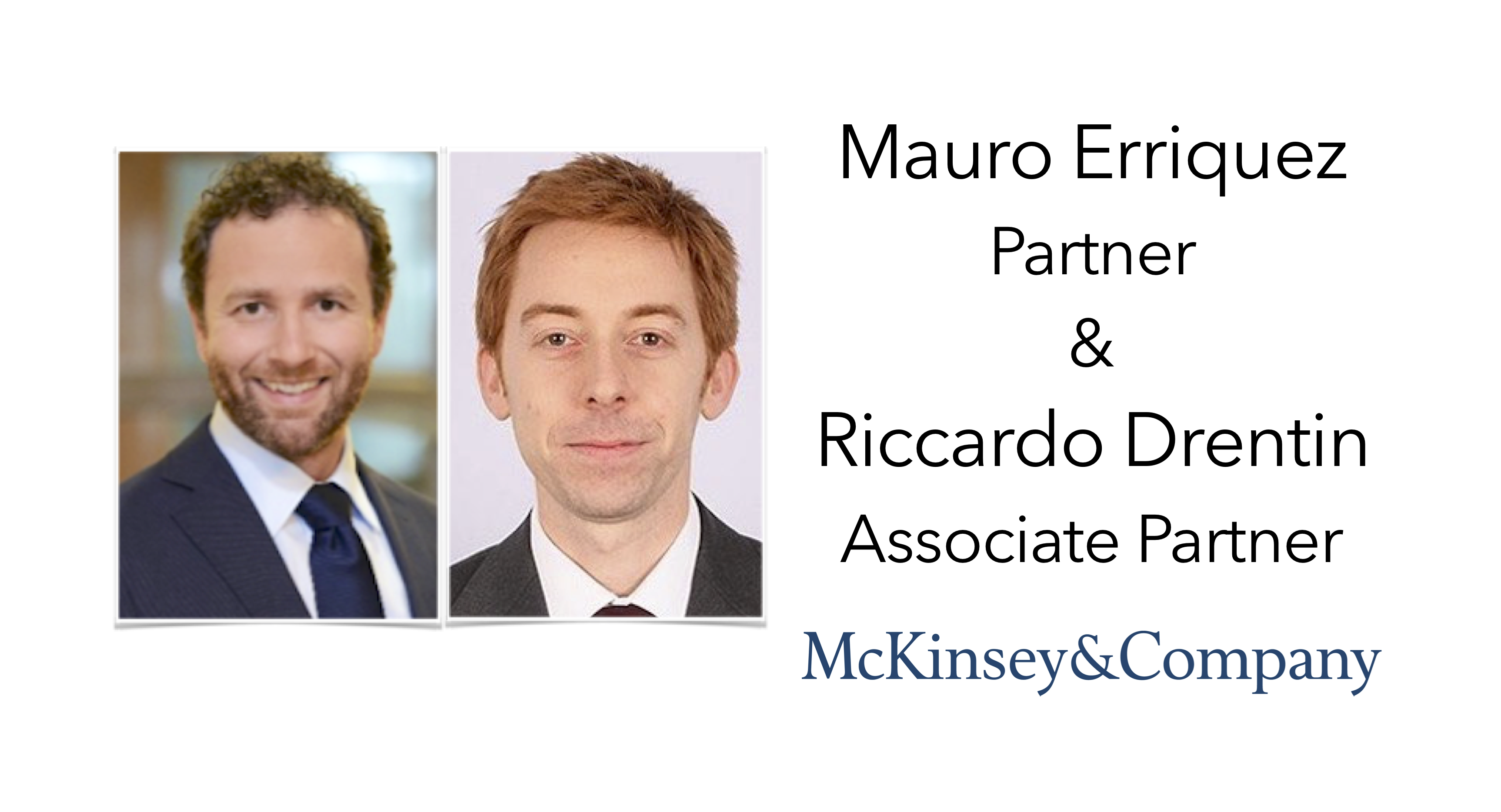 McKinsey & Company join Sourcing Outlook 2018 | EBG Network