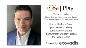 EBG | Play: Beckers Groups sustainability change management journey