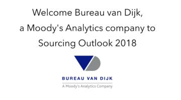 Bureau van Dijk join Sourcing Outlook 2018