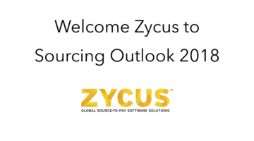 Zycus join Sourcing Outlook 2018