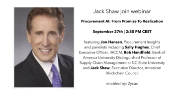 Jack Shaw join webinar about Artificial Intelligence