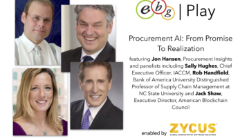 EBG | Play: Procurement AI: From Promise To Realization