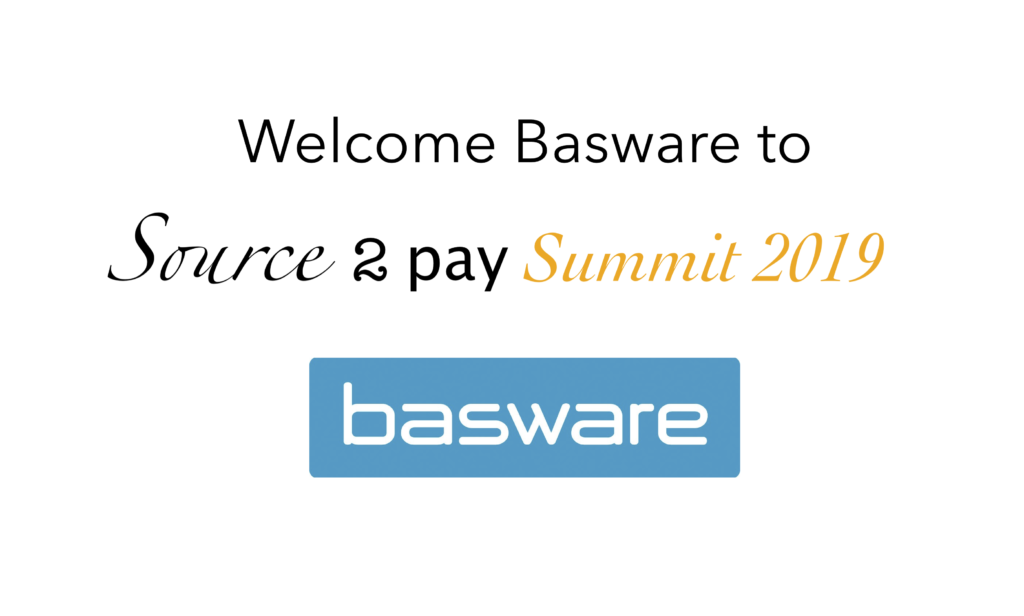 Basware join Source 2 Pay Summit 2019 | EBG Network