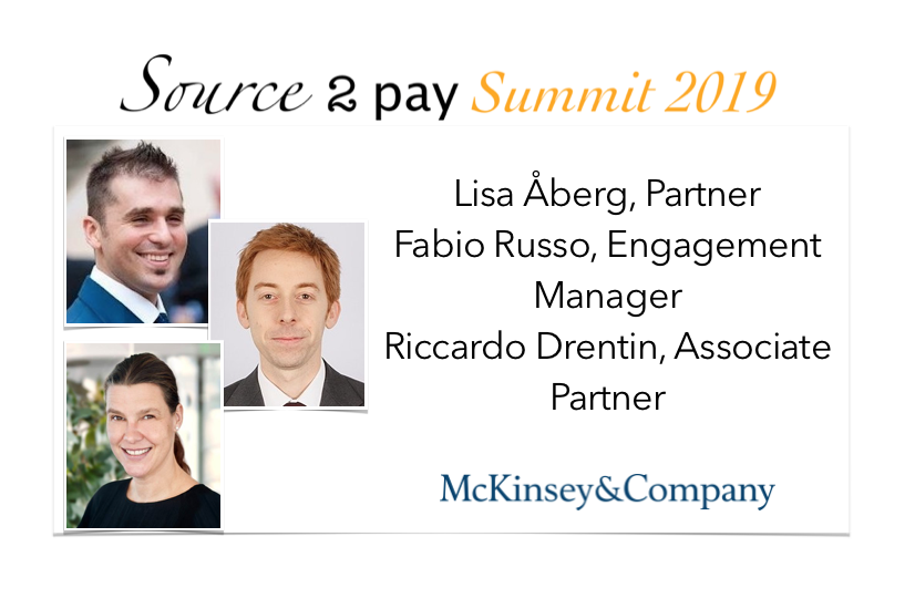 McKinsey & Co join Source 2 Pay Summit 2019 | EBG Network